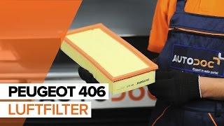 Så byter du luftfilter motor på PEUGEOT 406 GUIDE   AUTODOC