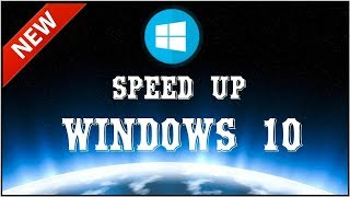 TIPS AND TRICKS TO SPEED UP WINDOWS 10 PC | HOW TO VIDEO | 2017