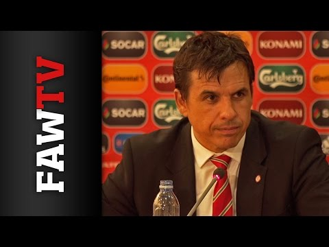 Cyprus Post Match Press Conference Chris Coleman