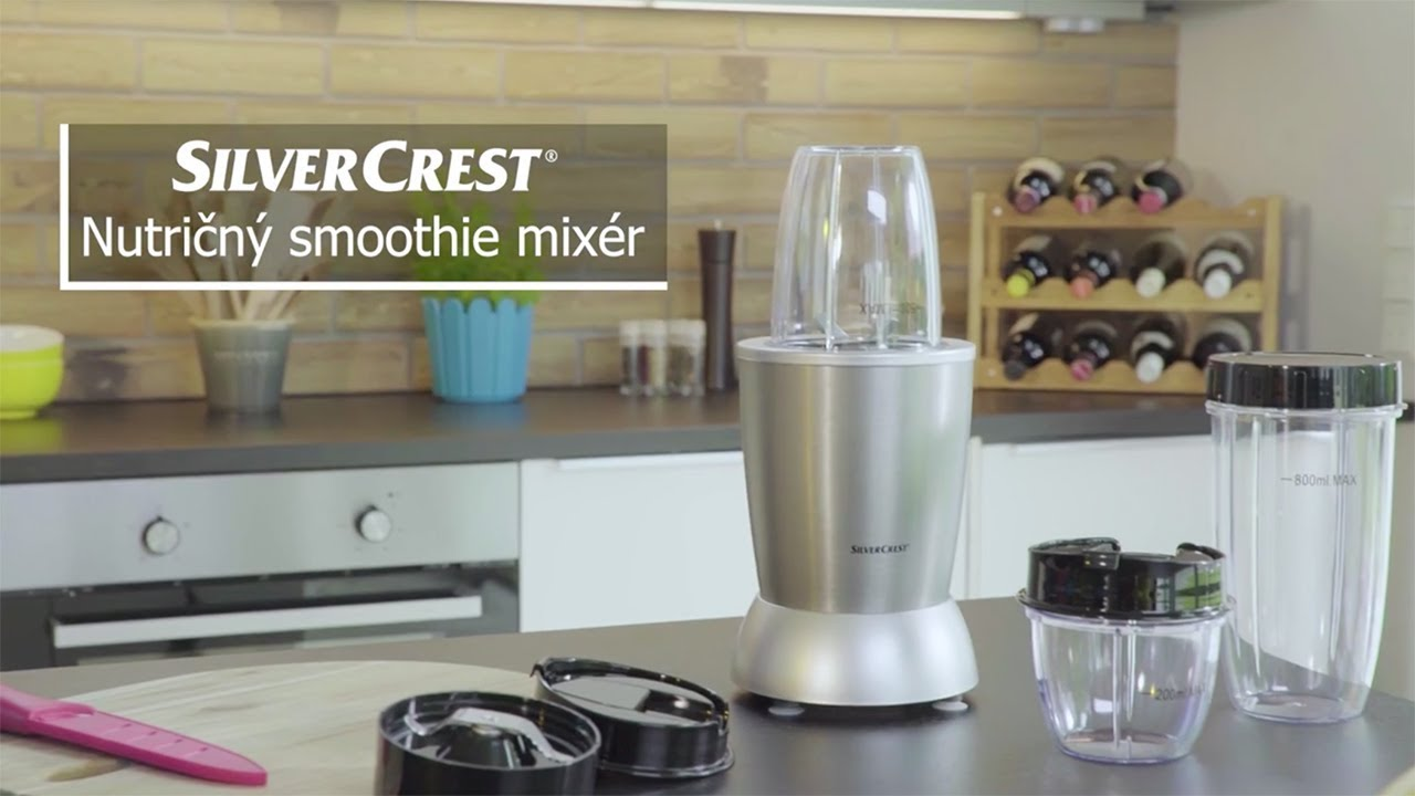 Lidl Silvercrest Nutrition Mixer Test Nutričný Smoothie Mixér Silvercrest Lidl