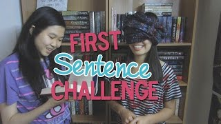 FIRST SENTENCE CHALLENGE! Thumbnail