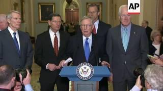 Senate Leadership Squares Off On SCOTUS Vacancy