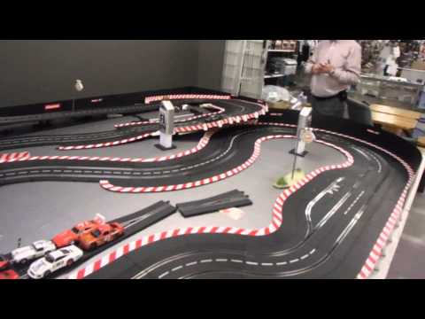 Metro Slot Car Raceway's Carrera 1/32 digital track