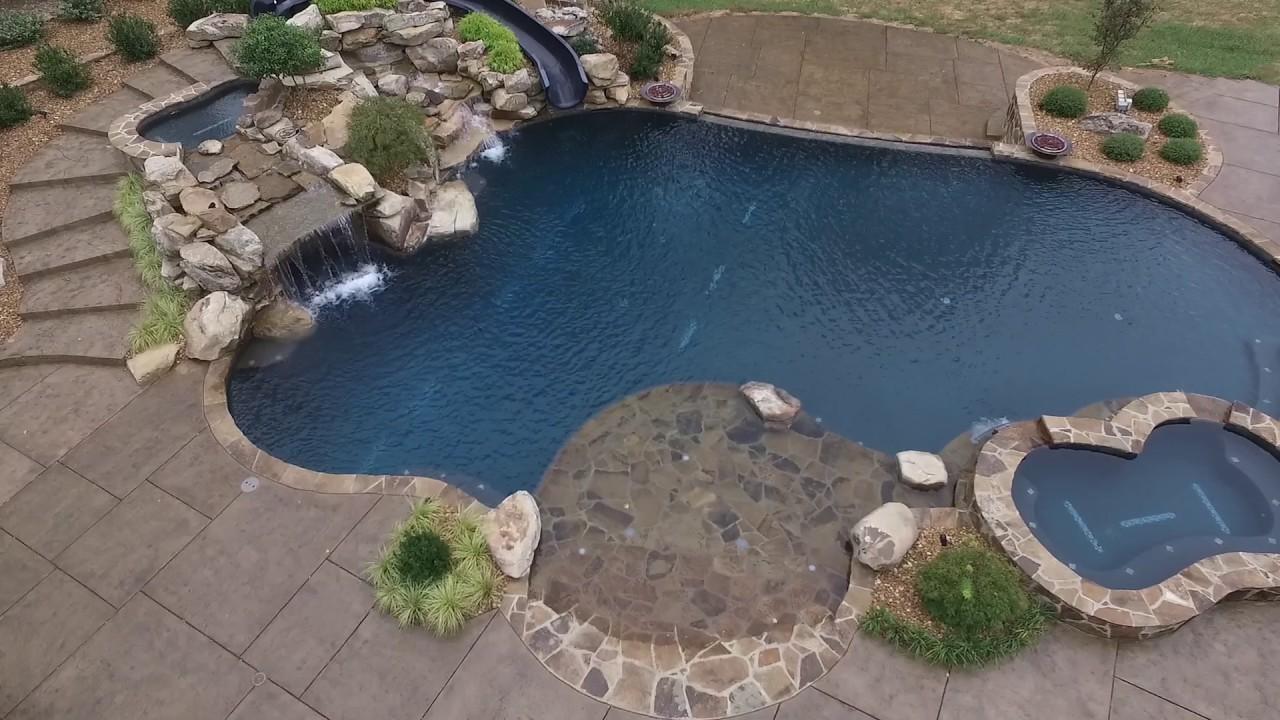Blue Hawaiian Pool Tour Youtube