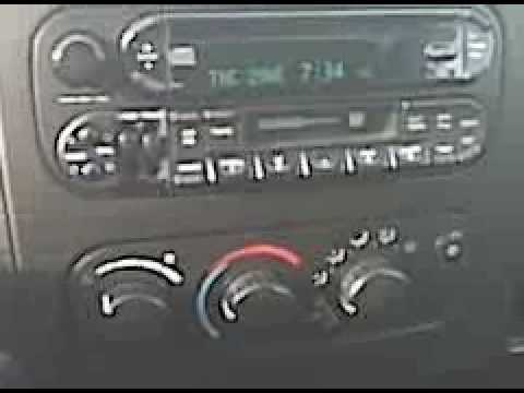 Dodge Dakota Intermittent Blinking A/C Light