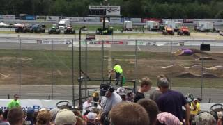 Monster Jam Stafford Springs, CT 2017 Saturday Afternoon: National Anthem, Intros, & Racing