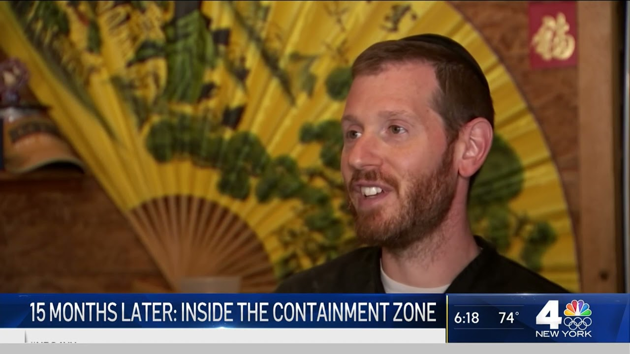 15 Months Later: Inside the First NY COVID-19 Containment Zone | NBC New York