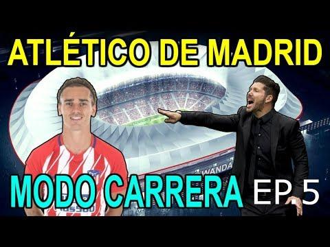Modo Carrera Atlético de Madrid #5 Partidazo contra el Barça| ByEric_21