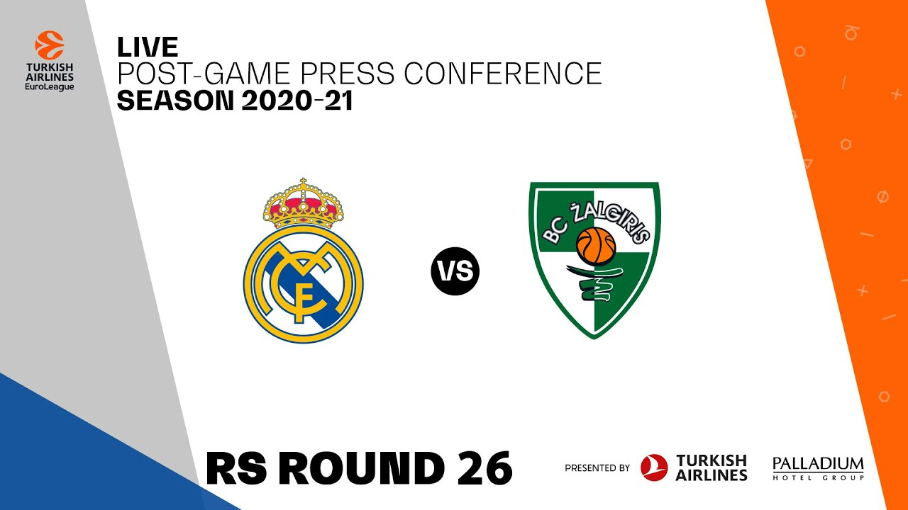 Post-game Press Conference | Real Madrid - Zalgiris Kaunas