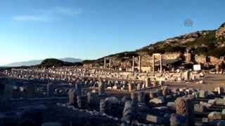 Knidos Antik Kenti'nin tarihi yapıları eski ihtişamına kavuşacak   MUĞLA