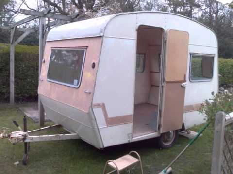 Retro caravan sprite 400 1969 refurbished