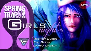 LADIES NIGHT ON THE SPRINGTRAP EPISODE 24 | CLASH and GFUEL HYPE | Clash of Clans