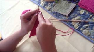 Switching Different Length Knitting Needles Thumbnail