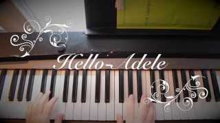 Comment Jouer Hello - Adele au Piano tutoriel par Herem