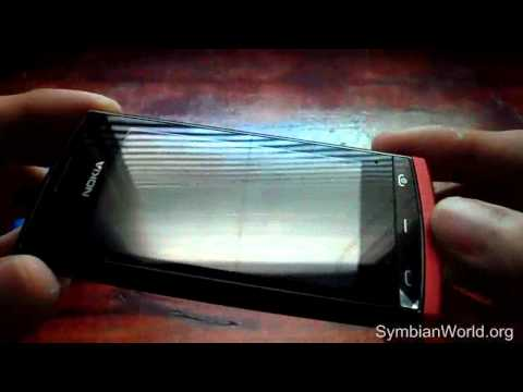 Nokia 500 Hands On - Changeable Vibrant Covers, Symbian Anna