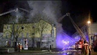 وفاة ثمانية أشخاص في حريق بمبنى سكني في جنوب غرب...
