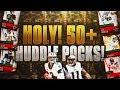 HOLY!!!! 50+ HUDDLE PACKS!! ELITES EVERYWHERE! MADDEN MOBILE 18