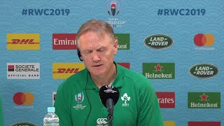 Joe Schmidt and Rory Best give post match press conference - New Zealand v Ireland
