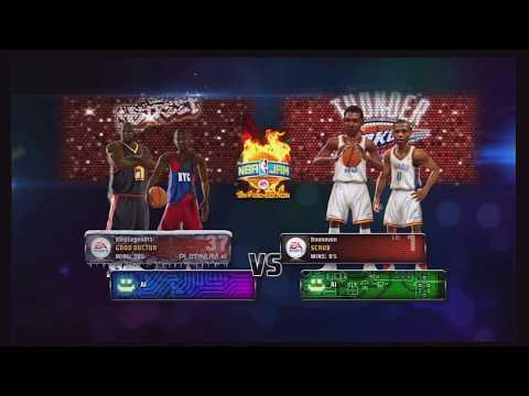 NBA Jam Ranked Xbox Live Match #1 - NBA Street All-Stars VS Oklahoma City Thunder