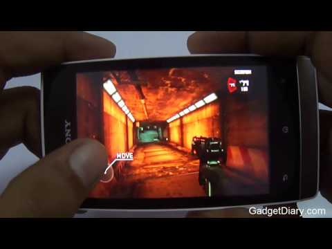 Sony Xperia Miro Gaming Review by Gadget Diary