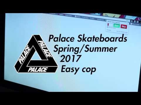 Palace SS17 Easy Cop - No bot