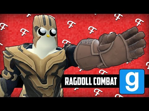 Gmod: Ragdoll Combat, The New Thanos, Im Master Chief! (Garrys Mod Sandbox - Comedy Gaming)