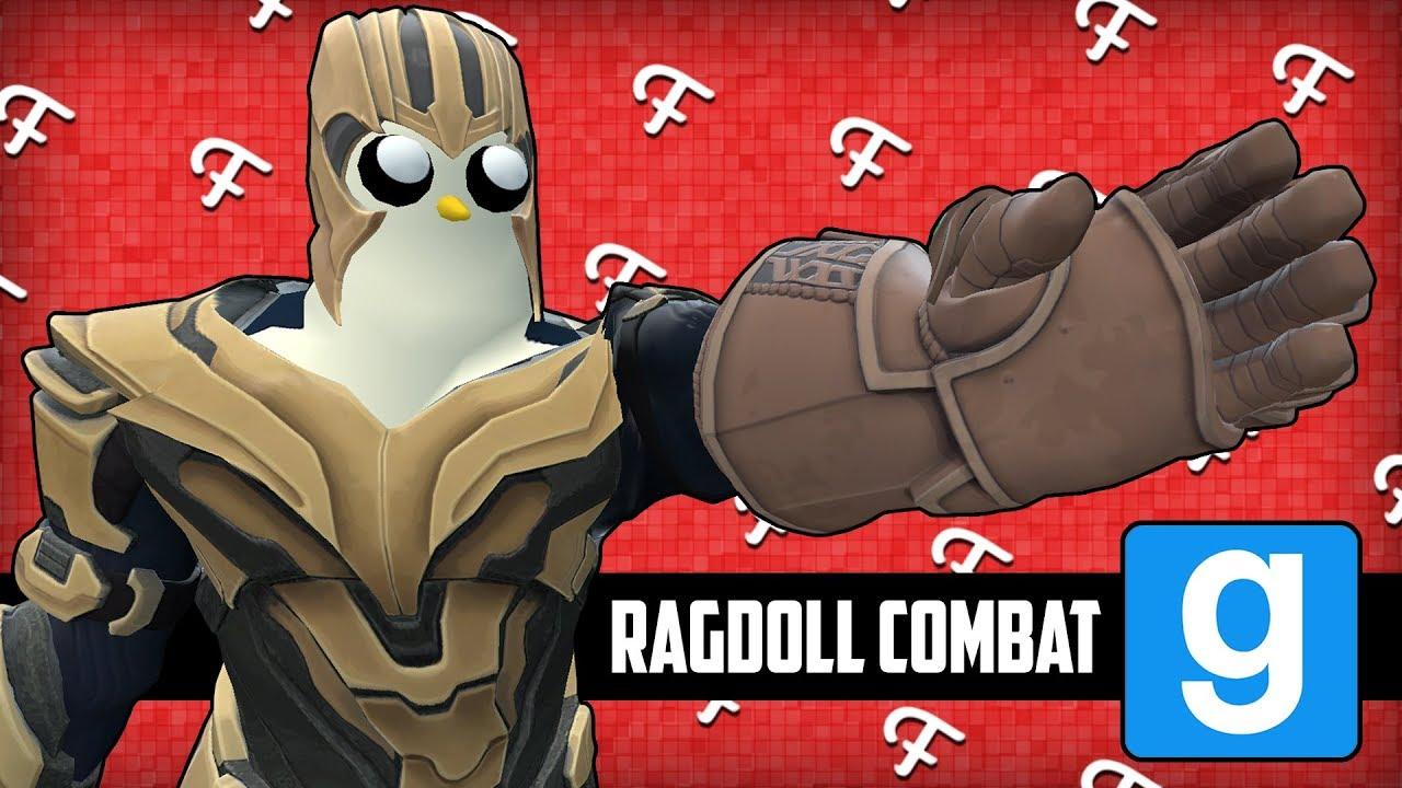 Gmod: Ragdoll Combat, The New Thanos, I'm Master Chief! (Garry's Mod  Sandbox - Comedy Gaming)
