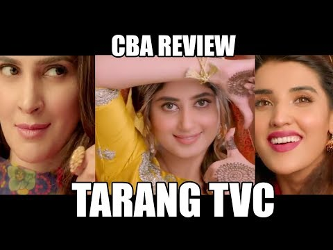 Tarang TVC |CBA Review| Comics By Arslan