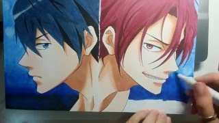 Speed Drawing - RIN E HARU (Free!)