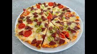 Bayat Ekmekleri Çöpe Atmayın! 5 Dakikada Enfes Ekmek Pizzayı Deneyin ! Bu Tarifi Çok Seveceksiniz:)