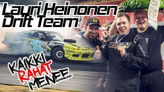 #KaikkiRahatMenee Podcast #16 | Lauri Heinonen Drift Team