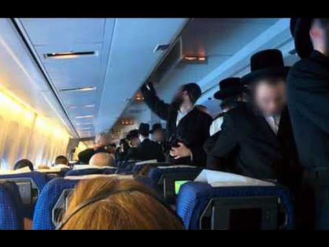 Orthodox Jewish Men Cause Flight Delays After Refusing To Si