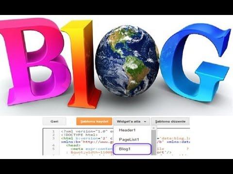 Blogger Şablon Blog-1 Kod Hatası Sorun Ve Çözümü
