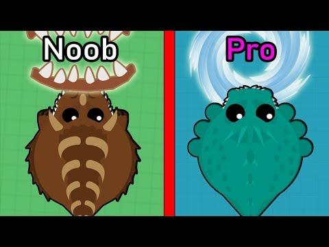 Mope.io NOOB vs. PRO CHOOSING ANIMALS *WORST ANIMALS CHALLENGE* Updated Challenge Wild Mope Edition