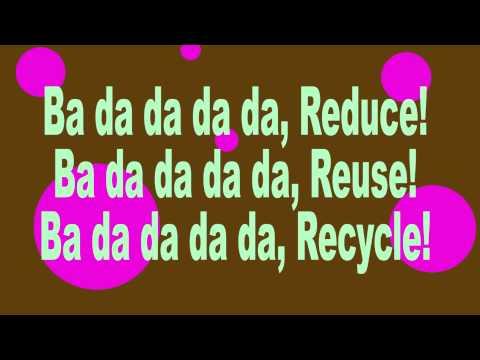 Sara O'Brien and The Community Rocks! Kids - Reduce, Reuse, Recycle (lyrics)