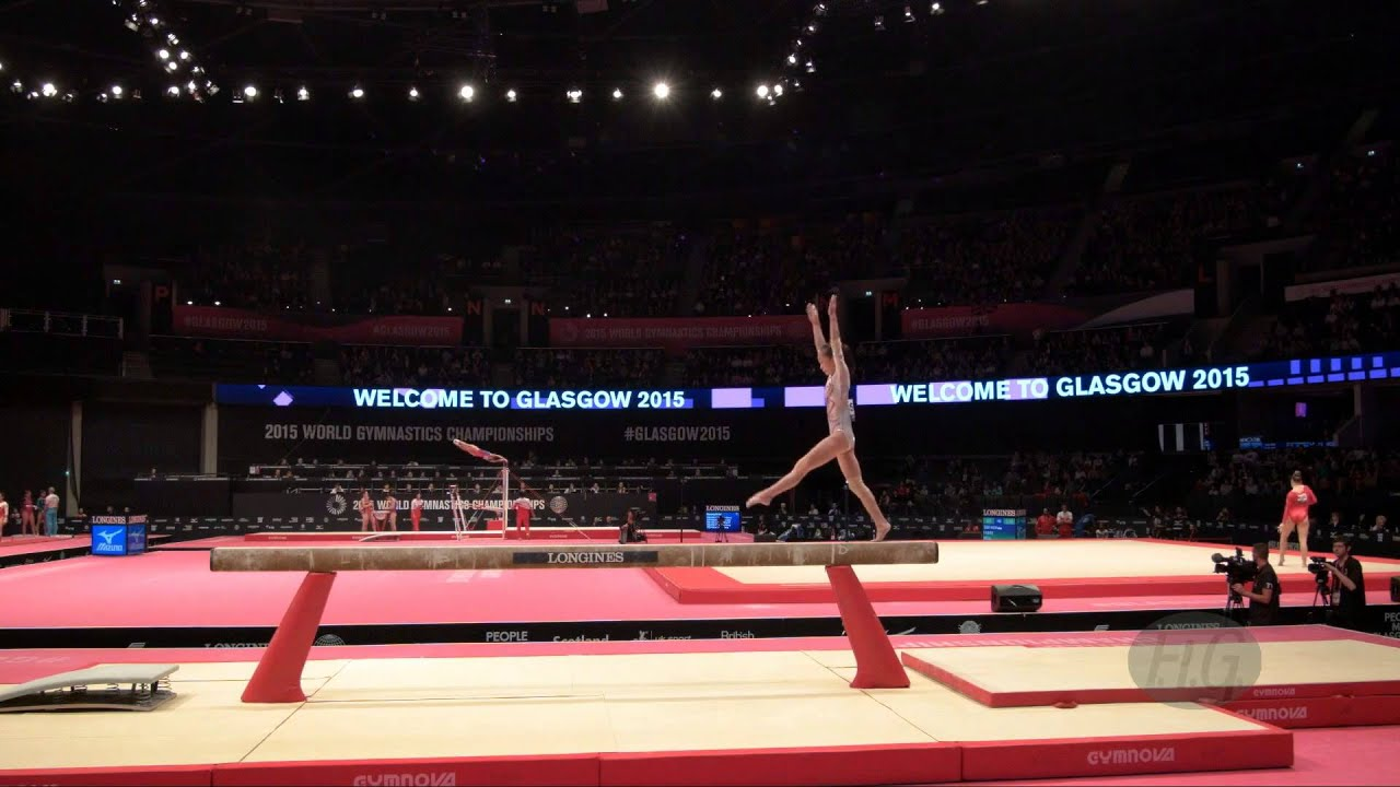 CHEN Siyi (CHN) - 2015 Artistic Worlds - Qualifications Balance Beam