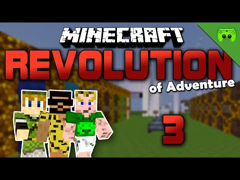 MINECRAFT Adventure Map # 3 - Revolution of Adventure «» Let's Play Minecraft Together | HD
