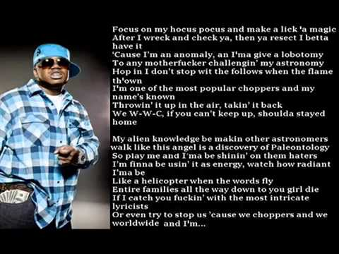 Tech N9ne   Worldwide Choppers w  The Real Lyrics Updated