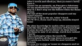 Tech N9ne   Worldwide Choppers w  The Real Lyrics Updated