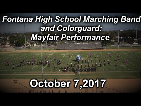 FONTANA HS BAND | MAYFAIR 2017/2018