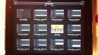 GarageBand for iPad Tutorial 1: How to Record a Song