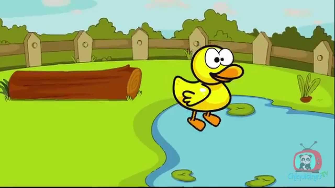 Al agua pato ♫ canción infantil ♫ Español - YouTube