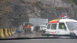 Accident At Neelam Valley, AJk, Kashmir