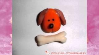 Как сделать магнит на холодильник - собачку