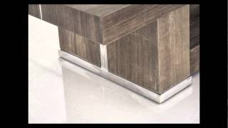 Modern Marble Console Table - Legno