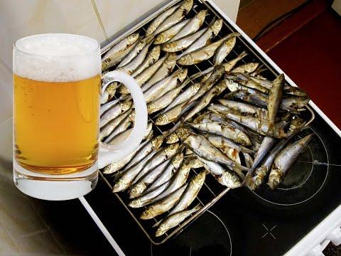 Рыба в духовке к пиву