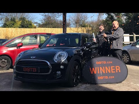Winner! Week 11 2018 - Peter MacDonald - Mini Cooper S!