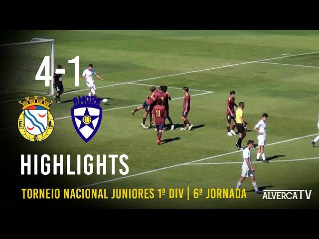 FC Alverca 4-1 Amora FC   Highlights