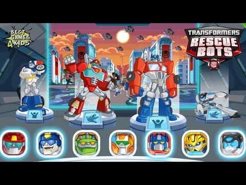 COMPLETE Missions in 4 Cities!   Transformers Rescue Bots: Disaster Dash - Hero Run #20 By Budge
