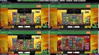 Quad Slot Machine Madness (Lil'Devil + Secret of the Stones Max)